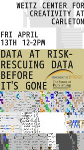Data at Risk event poster